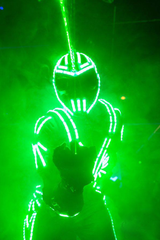 Led man – Robot man : Punisher Provence-Alpes-Côte d'Azur, France & international