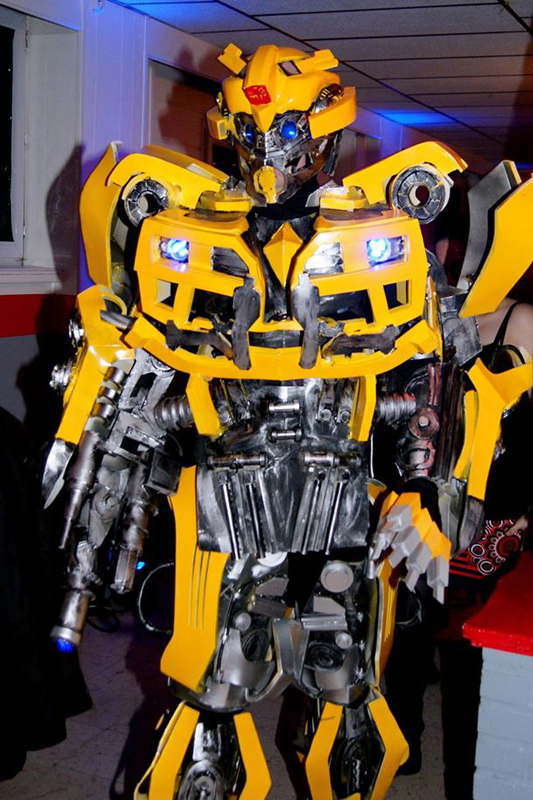 Transformers, Robot man, L.E.D. man - 75 Paris Ile-de-France, France & international